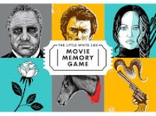 The Little White Lies Movie Memory Game