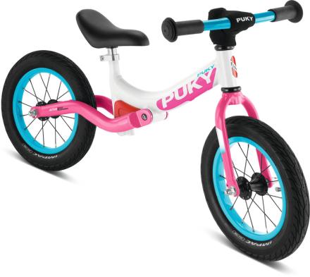 Puky LR Ride Lapset potkupyörä , vaaleanpunainen/valkoinen 2018 Lasten kulkuneuvot