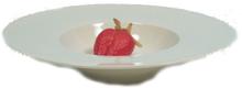 Ilab skål 4-pack fat förrätt dessert tallrik vit