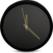 Klocka Modern - Svart/guld