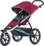 Thule Urban Glide barnvagnar 1-sits röd/svart 2017