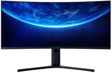 "34"" Skærm Mi Curved Gaming Monitor WQHD 144Hz - Sort - 4 ms"