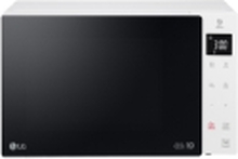 LG MS 23 NECBW, Over the range, Solo mikroovn, 23 L, 1000 W, Touch, Sort, Hvid