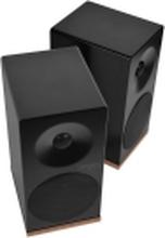 Tangent Spectrum X5BT - Højttalere - boghylde - trådløs - Bluetooth - 2-vejs - sort satin