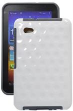 Cirkelmönster Bakomslag för Galaxy Tab 7.0 (vit)