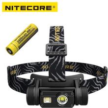 Nitecore HC65 Cree XM-L2 U2 LED 1000lm USB Rechargeable Headlight with battery