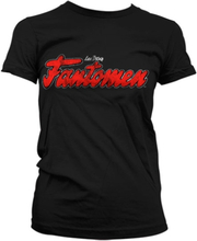 Fantomen Distressed Logo Girly T-Shirt, Girly T-Shirt