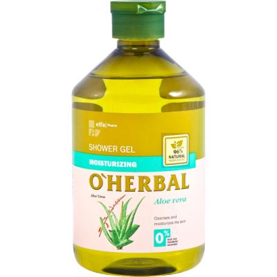 O'Herbal Moisturizing Shower Gel Aloe Vera Extract 500 ml