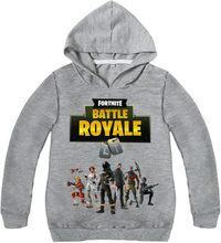 Fashion Fortnites Children Kids Boys T-Shirts Hooded Boys Baby Outerwear Clothing Spring Sweatshirts Battle Royale Child T Shirt
