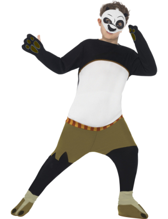 Kung Fu Panda dräkt 140 - 152 cm (10 - 12 år)