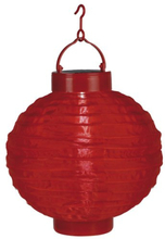 Risboll Röd LED m solpanel