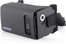 Modecom FreeHANDS MC-G3DC, Smartphone baseret hovedmonteret display, Sort, Micro-USB