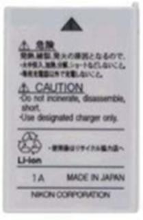Opladeligt Li-ion batteri EN-EL5