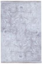 Maskinvävd matta Cornelio - Grå - 240x340 cm