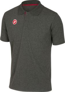 Castelli Race Day T-Skjorte Herre melange grey L 2019 T-Skjorter