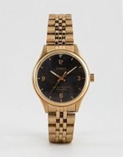 Timex Waterbury bracelet watch in gold - Gold