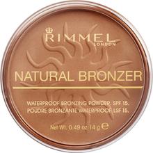 Natural Bronzer Waterproof SPF15 Br. Powder 021 Sun Light - 14 g