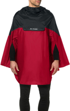 VAUDE Covero II Poncho indian red M 2020 Regnponchos