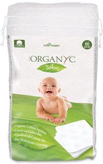 Organyc engangsvaskeklude Baby, 60stk