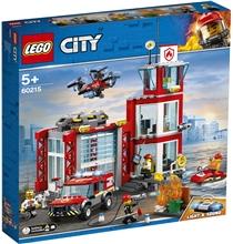 60215 LEGO City Brannstasjon
