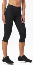 2XU Mid-Rise Compression 3/4 Tights Dam black/dotted reflective logo XS 2020 Kompressionsbyxor