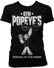Popeye´s Gym Girly T-Shirt, Girly T-Shirt