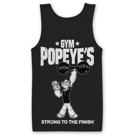 Popeye´s Gym Tank Top, Tank Top