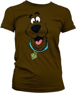 Scooby Doo Face Girly Tee, Girly Tee