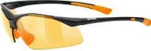 UVEX Sportstyle sport glasses 223 Black/Orange
