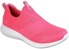 Skechers Womens Ultra Flex Neon Coral