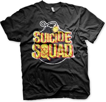 Suicide Squad Bomb Logo T-Shirt, Basic Tee