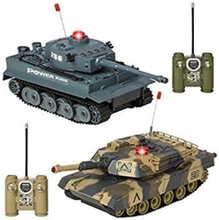 EliteToys Tanks Battle set 2pcs