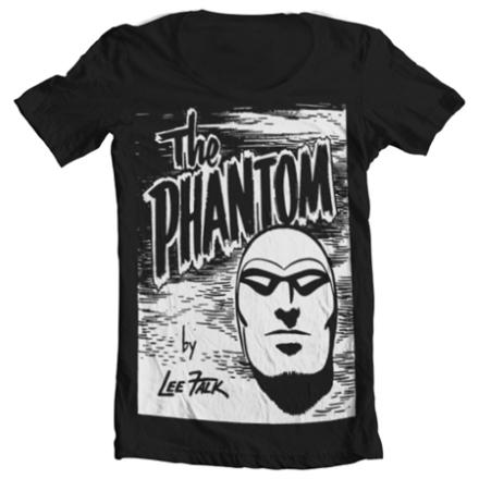 The Phantom Sketch Wide Neck Tee, Wide Neck T-Shirt