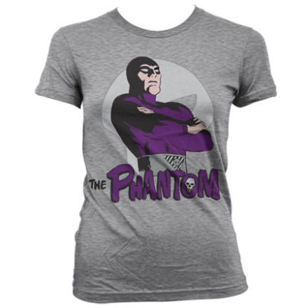 The Phantom Pose Girly T-Shirt, Girly T-Shirt