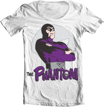 The Phantom Pose Wide Neck Tee, Wide Neck T-Shirt
