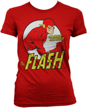 The Flash - Fastest Man Alive Girly T-Shirt, Girly T-Shirt
