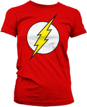 The Flash Emblem Girly T-Shirt, Girly T-Shirt