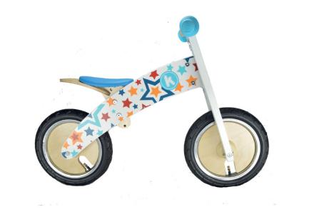 Kiddimoto Kurve Lapset potkupyörä , sininen/monivärinen 2017 Lasten kulkuneuvot