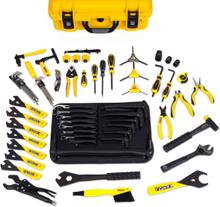 Pedros Master Tool Kit 3.1 Verktygssats Gul, inkluderar 70 professionella verkty
