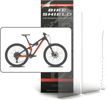 Sportscover Bikeshield Fullpack Oversize Transparent, 12 deler, beskytt sykkelen