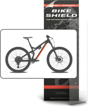 Sportscover Bikeshield Tube Shield Small Transparent, 500 x 45 mm