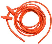 Zone3 Elastiske Lisser Neon Orange, hurtigsnøring!