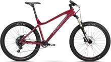 """Kross Dust 2.0 27,5"""" mountainbike Röd, Sram NX 1x11, Skivbroms, 12,2 kg"""