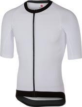 Castelli T1 Stealth Top 2 Cykeltröjor Vit, Mycket bra aerodynamisk tröja!