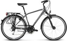 Kross Trans 5.0 Herr Hybridcykel Grå, 24 växlar, Långfärdscykel, 17,1 kg