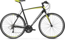 Kross Pulso 1.0 Hybridcykel Svart/Lime, 24gir, Til trening, 10,4 kg