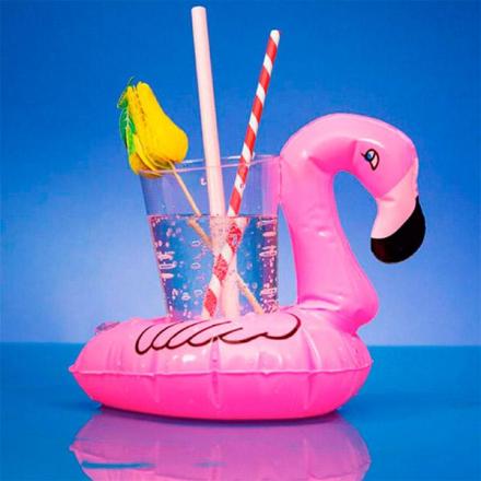 Oppblåsbar Flamingo Drikkeholder