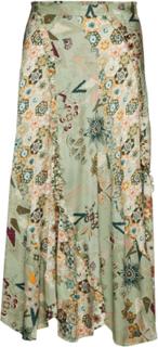 Molly-Hooked Skirt Knælang Nederdel Multi/mønstret ODD MOLLY