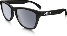 Oakley Frogskins Glasögon Polished Black/Grey