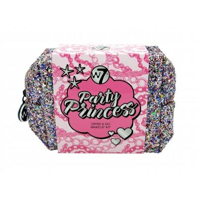 W7 Party Princess Grab & Go Makeup Kit 4 stk